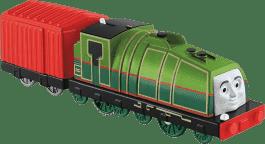 FISHER-PRICE Mašinka Gator - zelená s červeným přívěsem