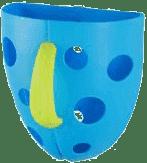 BABY ONO Box na hračky do vane - Modrá