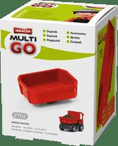 IGRÁČEK Multigo – półotwarta skrzynia ładunkowa czerwona.