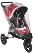 BABY JOGGER Pláštenka City Elite - Transparent