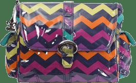 KALENCOM Přebalovací taška Buckle Bag Rainbow Zigzag