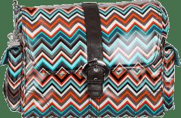 KALENCOM Přebalovací taška Buckle Bag Safari Zig Zag
