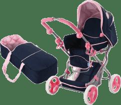 Hauck Wózek dla lalek, trzy kombinacje - kolor Navy