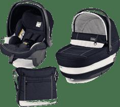 PEG-PÉREGO Zestaw Gondolka + Fotelik samochodowy + torba modular XL Riviera