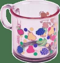 CANPOL Babies Protišmykový hrnček - ružový