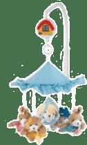 CANPOL Babies Kolotoč plyšový zvířatka pod strieškou