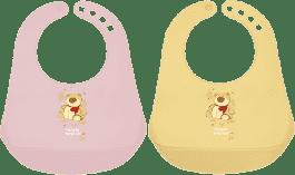 CANPOL Babies Plastový podbradník dievča-rôzne druhy