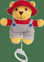 CANPOL Babies Plyšová hracia skrinka medvedík s červenou čiapočkou - chlapec