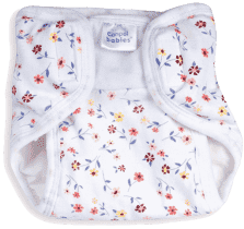 CANPOL Babies Plenkové kalhotky PREMIUM M - Kytičky