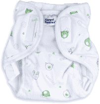 CANPOL Babies Plienkové nohavičky PREMIUM M - Méďa a zajačik