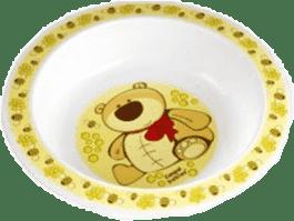 CANPOL Babies Plastová miska - žltá