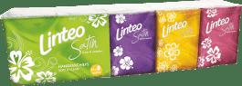 LINTEO Minichusteczki higieniczne, białe, trzywarstwowe, 10 x 10 szt.