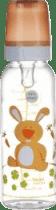 CANPOL Babies Láhev s potiskem 250 ml bez BPA – zajíček