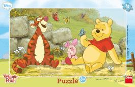 DINO Puzzle Planszowe Kubuś Puchatek 15szt