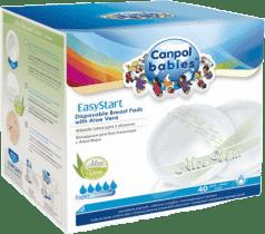 CANPOL EasyStart Wkładki Laktacyjne 40 szt. Aloe Vera