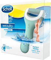 SCHOLL Velvet Smooth Elektrický pilník na chodidlá do vody