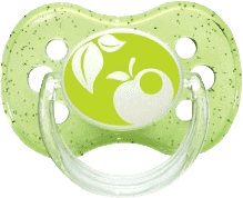 CANPOL Babies C - Cumlík síl. čerešnička 18m + NATURE - zelené