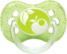 CANPOL Babies B - Cumlík síl. čerešnička 6-18m NATURE - zelené
