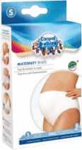 CANPOL Babies Těhotenské kalhotky vysoké L