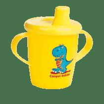 CANPOL Babies Nevylévací hrníček Anywayup – žlutý 250 ml