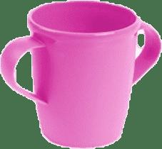 CANPOL Babies Hrnček s uškami BASIC - ružový 250 ml