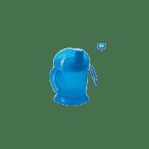 CANPOL Babies Nevylévací hrnček Smiley - modrý 200 ml
