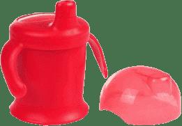 CANPOL Babies Nevylévací hrníček Smiley – růžový 200 ml