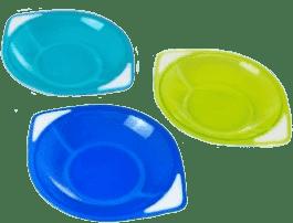 CANPOL Babies Zestaw misek 3 szt- niebieski