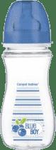 CANPOL Babies Láhev EasyStart Fruits 300 ml bez BPA- modrá