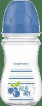 CANPOL Babies Fľaša EasyStart Fruits 240ml bez BPA- modrá