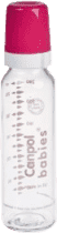 CANPOL Babies Fľaša sklo bez potlače 250 ml- ružová