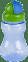 CANPOL Babies Fľaša športová so slamkou malá- modrá 270 ml