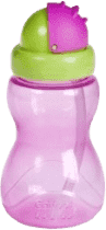 CANPOL Babies Fľaša športová so slamkou malá- ružová 270 ml