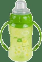 CANPOL Babies Tréninkový hrníček s úchyty- zelená 320 ml