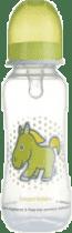 CANPOL Babies Láhev s potiskem 250 ml 0% BPA- zelená
