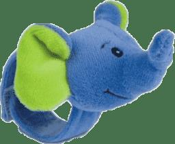 CANPOL Babies Plyšové hrkálka na ruku jungle-slon