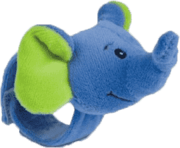CANPOL Babies Plyšové chrastítko na ruku jungle-slon
