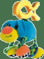 CANPOL Babies Plyšové hrkálka vibrační- pes