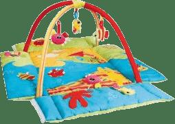 CANPOL Babies Hrací koberec s hrazdičkou MULTIFUNKČNÍ oceán