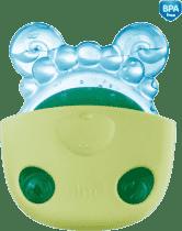 CANPOL Gryzak chłodzący zwierzątko w kieszonce – zielona kieszonka