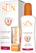 SUNPROTECT Swiss F30 spray 250ml + Pant.50ml gratis