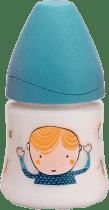 SUAVINEX Butelka z szerokim otworem pp 150 ml lateksowy ustnik chłopczykk