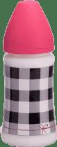 SUAVINEX Butelka z szerokim otworem pp 270 ml lateksowy ustnik – trendy