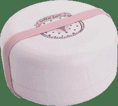 SUAVINEX Bentote - Set komBINOvateľných skladacích mištičiek + 4m hello fox - ružová