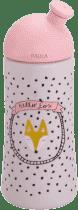 SUAVINEX Třetí láhev se sportovním pítkem (18m+) hello fox - růžová