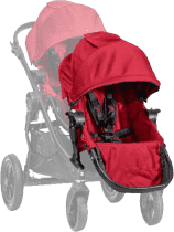 BABY JOGGER Doplnkový sedák - Red