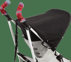CITYGRIPS Ochrana na kočík double - Zig zag colour