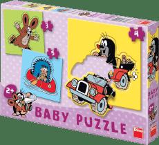DINO Baby Puzzle Krecik