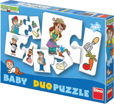 DINO Baby Puzzle 9x2 Praca