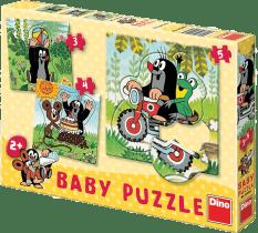 DINO Baby Puzzle Krecik na łące